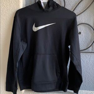 Nike XL Therma-Fit black white hoodie